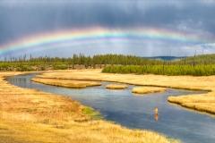 Firehole River, Yellowstone Park, 1
